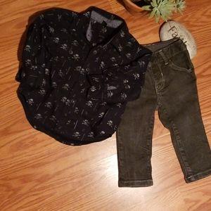Baby gap outfit 12-18mo
